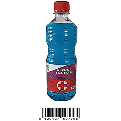 Alcool sanitar Luna 500 ml