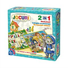 Joc 2 in 1 Gulliver+Motan, D-Toys