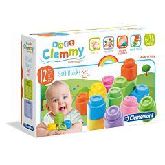 Jucarie Clementoni - Clemmy - Set 12 cuburi