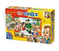 Cuburi 12 bucati Basme, D-Toys
