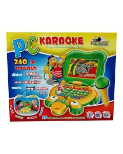 Laptop in forma de testoasa+ microfon karaoke