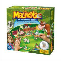 Joc magnetic Animale domestice si salbatice, D-Toys