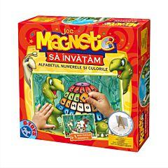 Joc magnetic - Alfabet, numerele si culorile