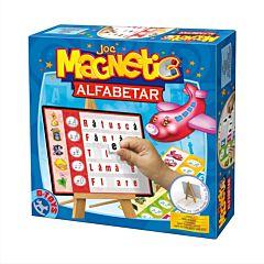 Joc magnetic - Alfabetar cu tabla