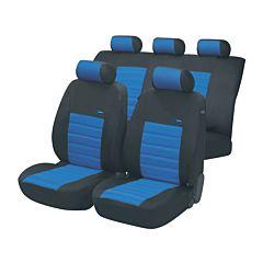 Huse auto SportSpeed x 12 piese, Walser, albastru