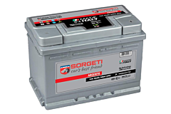 Baterie auto Argento Sorgeti, 12 V, 55 Ah