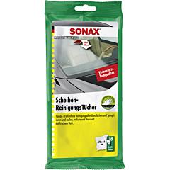 SONAX Servetele umede auto pentru suprafetele din sticla, 10 buc