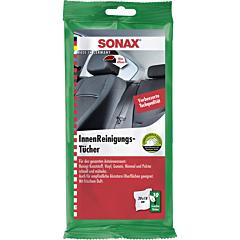 SONAX Servetele umede auto pentru suprafetele interioare, 10 buc