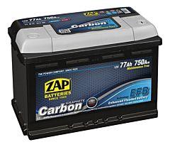 Baterie auto Carbon EFB ZAP, 12 V, 77 Ah