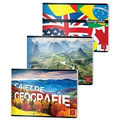 Caiet geografie Pigna, 24 file