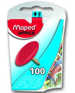 Pioneze color Maped 100 buc blister