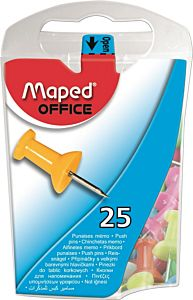 Pioneze pentru panou pluta Maped, 25 buc