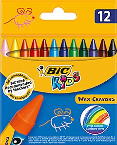 BIC Kids Wax Crayons 12 buc