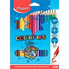 Creioane colorate Maped 18 buc