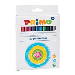 Markere pentru copii Morocolor, 12 culori/cutie