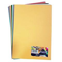Carton colorat A4, 160gr/mp, 10 coli, diferite culori