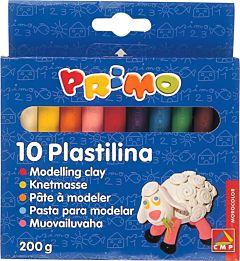 Plastilina Morocolor 180 g, 10 culori/cutie