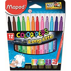 Carioca Maped 12 culori