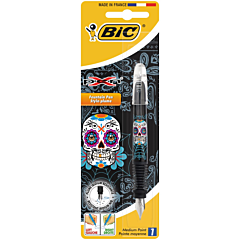 Stilou XPen Decor SKULL 2015, Bic