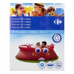 Piscina 3D Crab, 175x62 cm