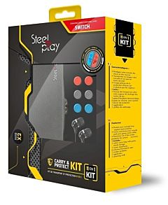 Kit 11 in 1 Carry & Protect Steelplay pentru Nintendo Switch