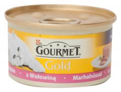 Conserva cu carne de vita Purina Gourmet Gold 85g