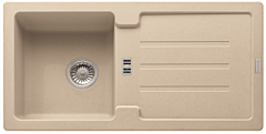Chiuveta STG614-86 Avena Franke, reversibila, tehnologie Sanitized, adancime cuva 166 mm