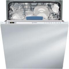 Masina de spalat vase incorporabila DIFP8T94Z Indesit, A++, 14 seturi, 8 programe, Alb