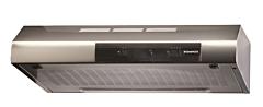 Hota DTT 652 XS, Clasa D, 82W, Filtru Metalic, 295 mc/h, 69 dbA, 3 Trepte, 1 Motor, Inox