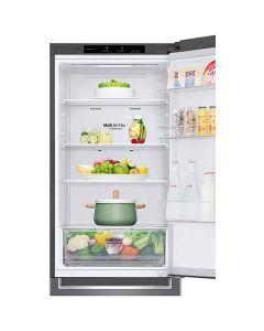 Combina frigorifica GBP31DSLZN LG, Total No Frost, 341 l, H 186 cm, Clasa A++, Door Cooling, NatureFresh, Argintiu