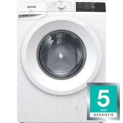 Masina de spalat rufe MSFWE823 Gorenje, Clasa A+++, WaveActive, 8kg, 1200rpm, Program Rapid 20min, 16 Programe, Alb