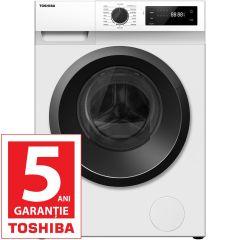Masina de spalat rufe Toshiba TW-BJ80S2, 7Kg, 1200 RPM, A+++, Alb