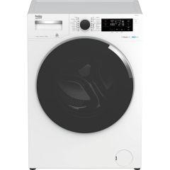 Masina de spalat rufe WTE9744N Beko, 9 kg, 1400 RPM, Clasa A+++, AquaTech SteamCure, ADDGarment, Motor ProSmart Inverter, Alb