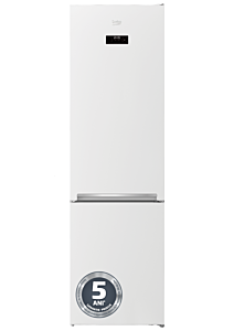 Combina frigorifica Beko RCSA406K40WRN, 386 Litri, Clasa E, Voice Recorder, Inaltime 203.2 , Alb