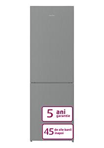 Combina frigorifica Arctic AK60366M30NFMT, 324 Litri, CLasa F, Gri