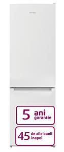 Combina frigorifica Arctic AK54305M30W, 291 Litri, Clasa F, Alb