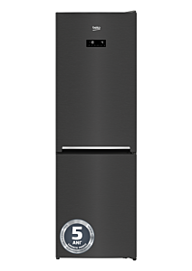 Combina frigorifica Beko RCNA366E40ZXBRN, 324 Litri, Clasa E, HarvestFresh, Neofrost Dual Cooling, Everfresh+, Gri