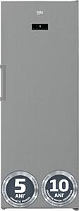 Congelator vertical Beko RFNE448E41XB, No Frost, 404 Litri, Clasa E, Gri