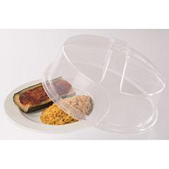 Capac microunde Xavax, 22 cm, acoperire alimente, universal, transparent