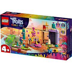LEGO Trolls World Tour Aventura cu pluta lui Lonesome Flats 41253