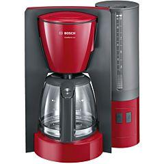 Cafetiera TKA6A044 Bosch, 15 Cesti capacitate, 1200 W Putere, Sistem anti-picurare, Oprire automata, Selector aromov
