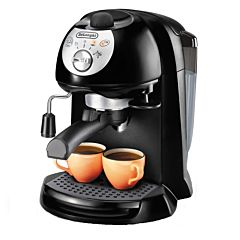 Espressor manual EC201CD.B Delonghi, 1100 W, 15 bar presiune, 1.4 litri capacitate rezervor