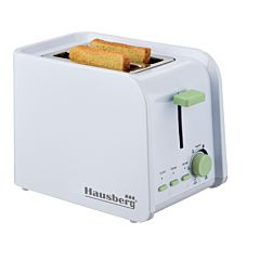 Prajitor de paine HB195 Hausberg, 750 W, 2 felii, declansare automata