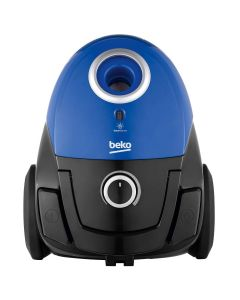 Aspirator cu sac VCC34803AD Beko, 800W, filtru Hepa 12, putere variabila, albastru