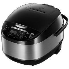 Multicooker HMCK-5BK Heinner, 770 W, 11 programe, Timer, Control Touch, Functie mentinere cald, Negru