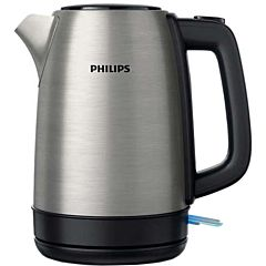 Fierbator HD9350/91 Philips, 2200 W, 1.7 L, capac metalic, led indicator, Inox