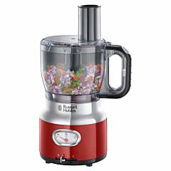 Robot de bucatarie Retro Ribbon Red 25180-56 Russell Hobbs, 850 W, 2.3 L, Rosu