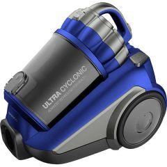 Aspirator fara sac RCC-250L/3A Daewoo, 800 W, 3L, Tub telescopic din metal, Albastru