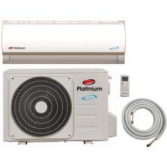 Aparat de aer conditionat PF-12DC Platinium, Inverter, 12000 BTU, Kit de instalare inclus, Clasa A++, Control activ de energie, Auriu