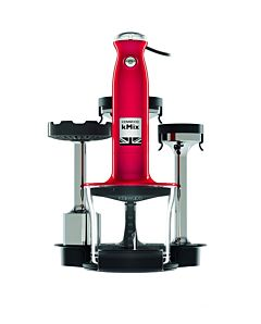 Mixer vertical multi HDX754RD Kenwood, 800W, 5 viteze + Pulse, Bol 0.5Lm Rosu